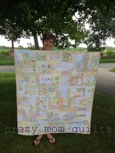 This one's for you Bond.    crazy mom quilts: sweet and low.