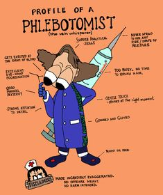 A Cartoon Guide to Becoming a Doctor: Guest Cartoon: Profile of a phlebotomist