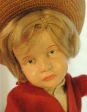 Schoenhut Doll K & R 114 Type, Original Costume, 16 1/2 IN, #16/401, HTF!!