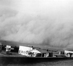 Dust storm in southern Colo.