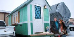 Homeless Say These 99 square foot Tiny Homes Are 'Life Changing'