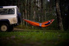 LE CONTAINER adventur, land rovers, camping, hammocks, outdoor, road trips, weight loss tips, camps, land rover defender