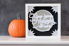 Once Upon a Dreary Home Decor Halloween Frame. Make It Now in Cricut Design Space
