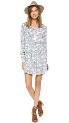 Printed Marlow dress