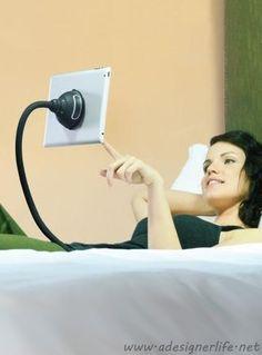 Monkey Kit Tablet Holder via A Designer Life