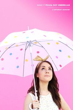 Great Inspiration for a DIY, Create Your Own Umbrella (From Design Love Fest)