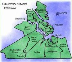 7 Cities of Hampton Roads: scenic, historic, gorgeous!
