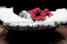 This photography prop is perfect for newborn pictures and cute birth announcements, but even cuter as a Halloween costume for your little one.