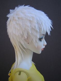 feather wig
