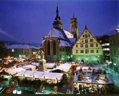 Germany's biggest Christmas markets are in beautiful city of Stuttgart