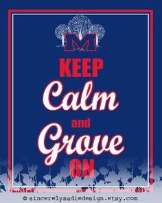 Keep calm and Grove on, guys.