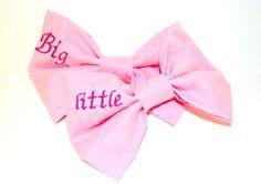 Big/Little Sis Hair Bows