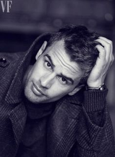 Theo James for @Angela Gray Greene FAIR