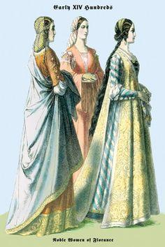 15th century clothing women