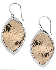 #Gorgeously primeval #Earrings worthy of #desire. #Bronze, #Sterling #Silver. #Silpada #Jewelry