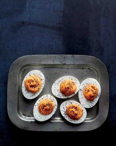 Spicy Deviled Eggs: