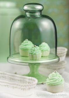 Cute little butter mints perfect for a shower or tea party.