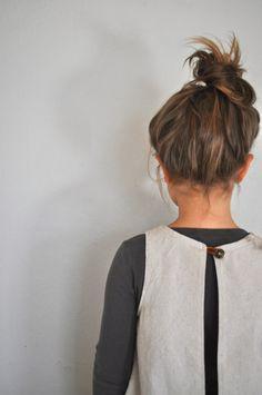 Apron top-detail apron top