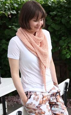Enjoy this classic and elegant design that features the garter stitch, soft yarn and a muted pink color. The Pure Luxury Scarf is everything its name promises: a luxurious accessory perfect for summer time. Knit scarf patterns like this one are perfect for adding a little color to a black-and-white ensemble.
