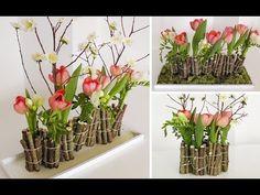 ... Blumendeko mit Holz selber machen  Deko Kitchen - YouTube More