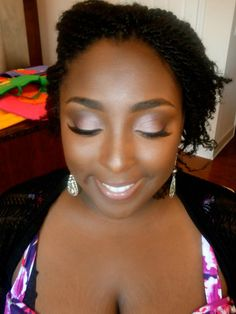 Beautiful Make Up on African American Women.    https://www.facebook.com/AlexandraButlerMUA