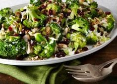 Healthy Broccoli, Cranberry & Almond Salad | Recipes | Eat Well | Best Health