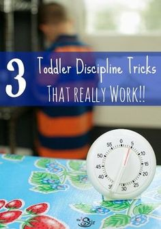 Toddler discipline... Must Try these