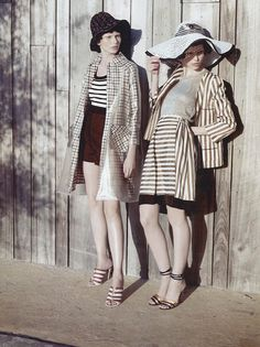 Monika Sawicka and Karlina Caune by KT Auleta in Vogue Italia May 2012