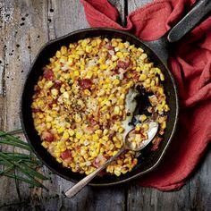 Cast-Iron Charred Corn