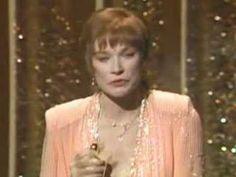 "Shirley Maclaine winning an Oscar® for ""Terms of Endearment"""