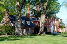 Westover, one of the grandest and most beautiful of the colonial plantations, was built in the mid-eighteenth century by the Byrd family.