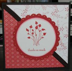 SC190 Pocket Thanks by nabush - Cards and Paper Crafts at Splitcoaststampers