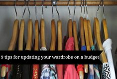 9 tips for updating your wardrobe on a budget