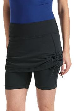 Skirted Swim Shorts - Plus: Sun Protective Clothing - Coolibar
