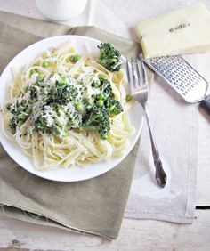 lemon-broccoli pasta