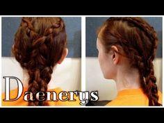▶ Game of Thrones Hair - Daenerys Targaryen Pyre Scene - YouTube