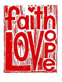 faith, love, hope corinthian, bibl, craft, theta, faith hope, art, inspir, quot, thing