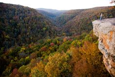 The Ozark Mountains (Midwest/Southern U.S.)