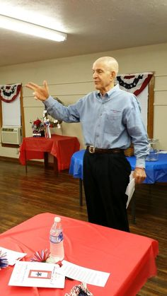 """Last week, Jim """"Mattress Mack"""" McIngvale spoke at the American Legion Hall. Mack always enjoys the honor of speaking to our Houston community; please comment below if you're interested in having Mack attend your next school, business, organization, or group event! #inspiration #public_speaking 