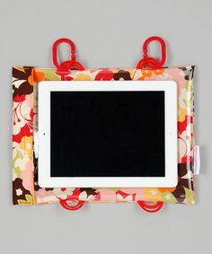 so smart.  Poppin' Poppies Tablet Case by Car Seat Cinema car seats, sew, poppi tablet, tablet cases, cinema poppin, carseat, poppies, seat cinema, kid