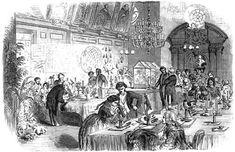 Scientific Conversazione, Illustrated London News, 28 April 1855