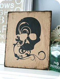 Image of Whimsical Skull