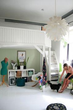 Saara's Bright & Quirky Helsinki Loft -- House Tour