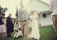 #wedding #dog