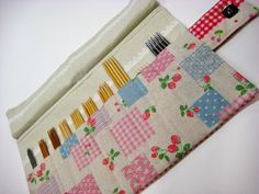 Cute double point needle organizer sue, doubl point, needl case, craft idea, point needl, knit, quilt stori, needl organ