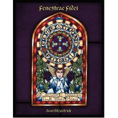 Fenestrae Fidei -  a coloring book of Saints and feast days!  4 per month!