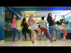 Out of all the Zumba routines I've seen, I like this one the best.