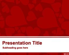 Free Marriage PowerPoint Template