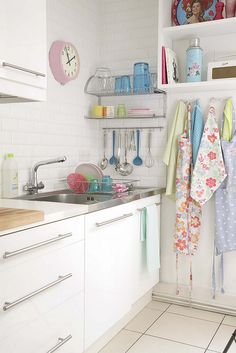 sweet pastel kitchen