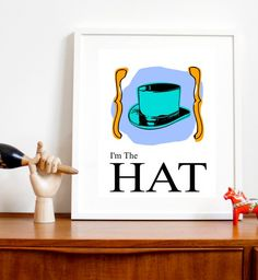 Monopoly game piece, the hat, art